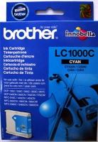 Картридж оригинальный голубой (cyan) Brother LC-1000C, ресурс 400 стр.