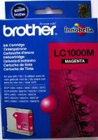 Картридж оригинальный пурпурный (magenta) Brother LC-1000M, ресурс 400 стр.