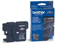 Картридж оригинальный черный (black) Brother LC-1100Bk, ресурс 450 стр.