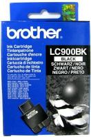 Картридж оригинальный черный (black) Brother LC-900BK, ресурс 500 стр.