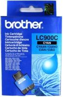 Картридж оригинальный голубой (cyan) Brother LC-900C, ресурс 400 стр.