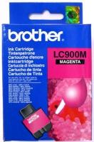 Картридж оригинальный пурпурный (magenta) Brother LC-900M, ресурс 400 стр.