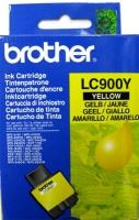 Картридж оригинальный желтый (yellow) Brother LC-900Y, ресурс 400 стр.