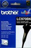 Картридж оригинальный черный (black) Brother LC-970BK, ресурс 300 стр.