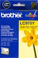 Картридж оригинальный желтый (yellow) Brother LC-970Y, ресурс 300 стр.