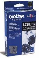 Картридж оригинальный черный (black) Brother LC-980BK, ресурс 300 стр.