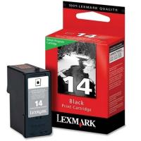 Картридж оригинальный черный Lexmark 18C2090  №14 Black, ресурс 175 стр.