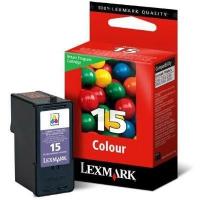 Картридж оригинальный цветной Lexmark 18C2110 №15 Color, ресурс 150 стр.