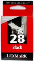 Картридж оригинальный черный Lexmark 18C1428E (№ 28) Black, ресурс 750 стр.
