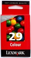 Картридж оригинальный цветной Lexmark 18C1429E (№ 29) Color, ресурс 400 стр.