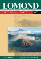 Lomond 0102025 Односторонняя глянцевая фотобумагa для струйной печати, A3, 230  г/м2, 50 листов.