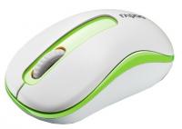 Оптическая беспроводная мышь Rapoo M10 White-Green USB