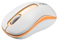 Оптическая беспроводная мышь Rapoo M10 White-Orange USB