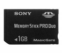 Карта памяти SONY Memory Stick PRO Duo 1Gb