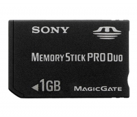 Карта памяти SONY Memory Stick PRO Duo 1Gb