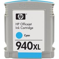 Картридж оригинальный (в технологической упаковке) HP C4907A  (№940XL) Cyan, ресурс 1400 стр.