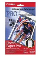 Canon PC-101S (Photo Paper Pro) глянцевые карточки с отрывным перфорированным краем  A6, 270 г/м2, 20 л.