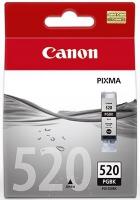 Картридж оригинальный черный (black) Canon PGI-520Bk, емкость 19 мл.