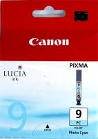Картридж оригинальный фотографический голубой (photo cyan) Canon PGI-9PC, емкость 14 мл.