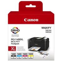 Набор картриджей оригинальный Canon CLI-1400 XL Bk/C/M/Y MULTI