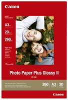 Бумага Canon PP-201 (Photo Paper Plus Glossy II) глянцевая A3, 260 г/м2, 20 л.