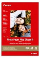 Бумага Canon PP-201 (Photo Paper Plus Glossy II) глянцевая A4, 260 г/м2, 20 л.