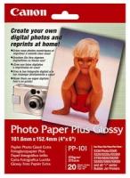 Бумага Canon PP-101 (Photo Paper Plus Glossy) глянцевая A6, 270 г/м2, 20 л.