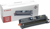 Картридж оригинальный черный Canon Cartridge 701 Black, ресурс 5000 стр.