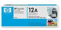 Картридж оригинальный HP Q2612A / 12A, ресурс 2000 стр. (Один картридж из комплекта  Q2612AD)