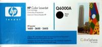 Картридж оригинальный черный (black) HP Q6000A, ресурс 2500 стр.