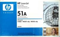 Картридж оригинальный HP Q7551A / 51A, ресурс 6500 стр.