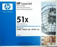 Картридж оригинальный HP Q7551X / 51X, ресурс 13 000 стр.