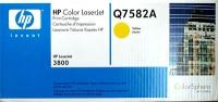 Картридж оригинальный желтый (yellow) HP Q7582A, ресурс 6000 стр.