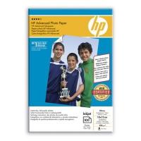 Бумага HP Q8692A, глянцевая А6, 250 г/м2, 100 л.