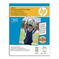 Бумага HP Q8696A, глянцевая 13x18, 250 г/м2, 25 л.