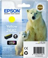 Картридж оригинальный (в технологической упаковке) желтый (yellow) Epson T2634 (C13T26344010), объем 9,7 мл.