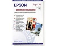 Бумага Epson S041328 (Premium Semiglossy Photo Paper) полуглянцевая, А3+, 251 г/м2, 20 л.