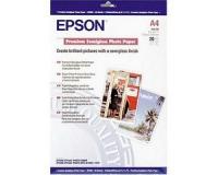 Бумага Epson S041332 (Premium Semiglossy Photo Paper) полуглянцевая, A4, 251 г/м2, 20 л.