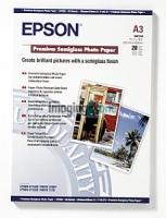 Бумага Epson S041334 (Premium Semiglossy Photo Paper) полуглянцевая, А3, 251 г/м2, 20 л.