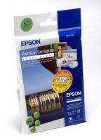 Бумага Epson S041765 (Premium Semigloss Photo Paper) полуглянцевая, А6, 251 г/м2, 50 л.