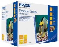 Бумага Epson S042199 (Premium Glossy Photo Paper) глянцевая 13х18, 255 г/м2, 500 л.