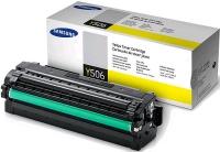 Картридж оригинальный Samsung CLT-Y506L Yellow, ресурс 3500 стр.