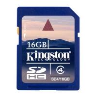Карта памяти Kingston SD4 16GB