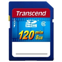 Карта памяти Transcend SDHC Video 120min 8Gb