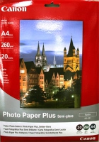 Бумага Canon SG-201 (Photo Paper Plus Semi-gloss) полуглянцевая A4, 260 г/м2, 20 л.