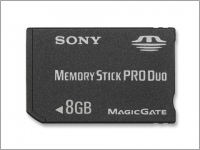 Карта памяти SONY Memory Stick PRO Duo 8Gb
