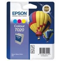 Картридж оригинальный (блистер) цветной Epson T020 color, ресурс 300 стр.