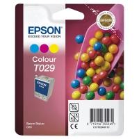 Картридж оригинальный (блистер) цветной Epson T029 color, ресурс 300 стр.