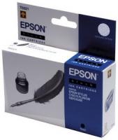 Картридж оригинальный (блистер) черный (black) Epson T0321, ресурс 620 стр.