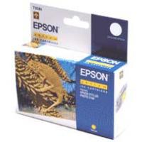 Картридж оригинальный (блистер) желтый (yellow) Epson T0344, ресурс 440 стр.